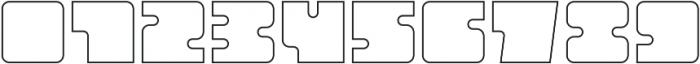 Oboe Outline Regular otf (400) Font OTHER CHARS
