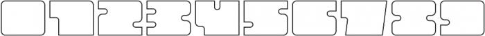 Oboe Outline Wide Regular otf (400) Font OTHER CHARS