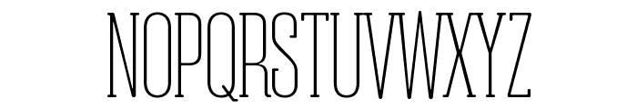 Obcecada-Serif Font UPPERCASE