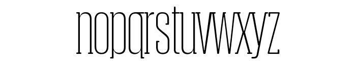 Obcecada-Serif Font LOWERCASE