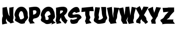 Obelix Pro Cry Font UPPERCASE