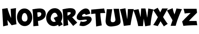 ObelixPro Bold Italic Font UPPERCASE