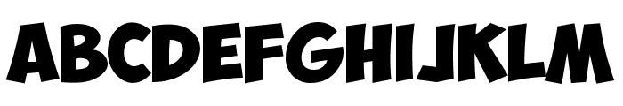 ObelixPro Bold Font UPPERCASE
