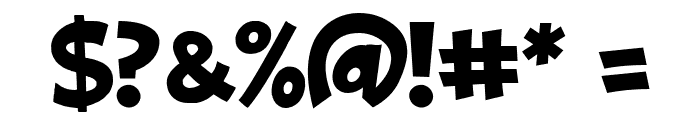 ObelixPro Italic Font OTHER CHARS