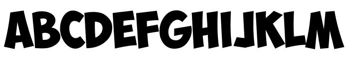 ObelixPro Italic Font UPPERCASE