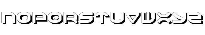 Oberon Shadow Font UPPERCASE