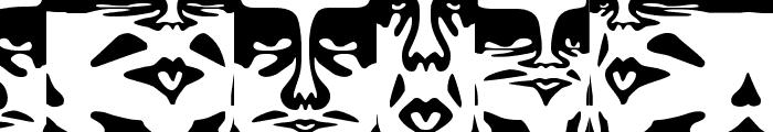 ObeyDada Font LOWERCASE