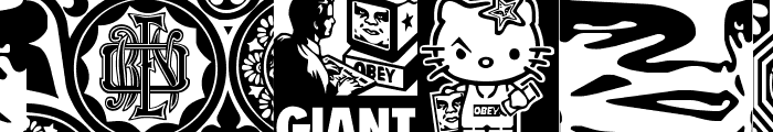 ObeyFavesCaps Font UPPERCASE