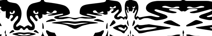 ObeyFunhouse Font UPPERCASE