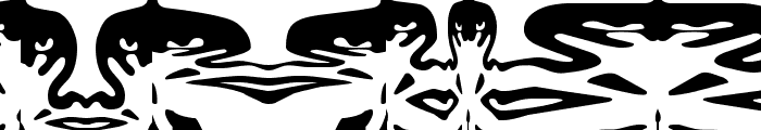 ObeyFunhouse Font LOWERCASE