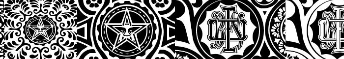 ObeyPatterns Font LOWERCASE