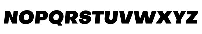Objectivity-BlackSlanted Font UPPERCASE