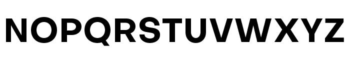 Objectivity-Bold Font UPPERCASE