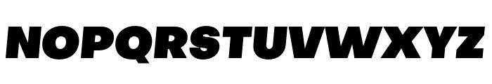 Objectivity-SuperSlanted Font UPPERCASE