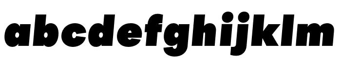 Objectivity-SuperSlanted Font LOWERCASE