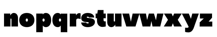 Objectivity-Super Font LOWERCASE