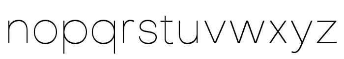 Objectivity-Thin Font LOWERCASE