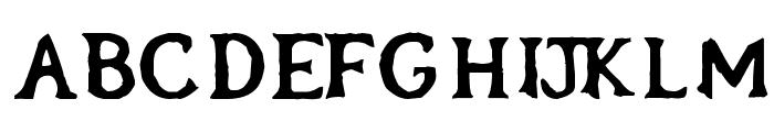 OblivionFont Font UPPERCASE
