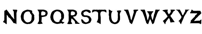 OblivionFont Font LOWERCASE