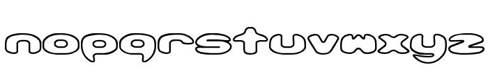 Obloquy Outline [BRK] Font LOWERCASE
