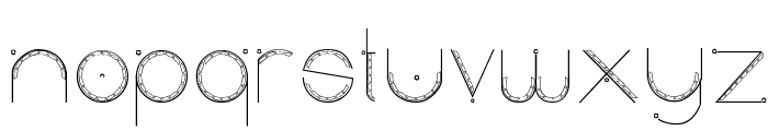 Obscura Font UPPERCASE