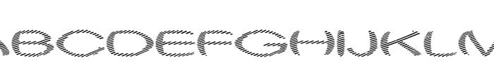 Obtuse One Font UPPERCASE