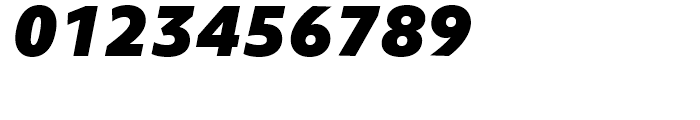 Objektiv Mk Black Italic Font OTHER CHARS