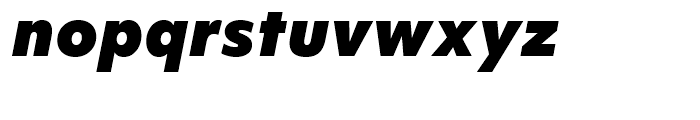 Objektiv Mk Black Italic Font LOWERCASE