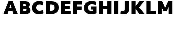 Objektiv Mk Black Font UPPERCASE