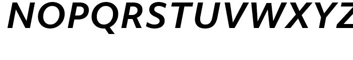 Objektiv Mk Bold Italic Font UPPERCASE