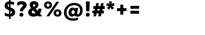 Objektiv Mk ExtraBold Font OTHER CHARS