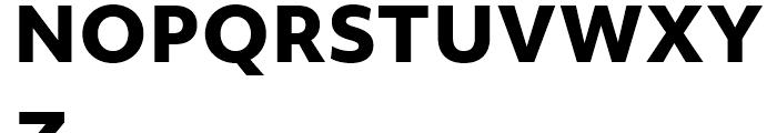 Objektiv Mk ExtraBold Font UPPERCASE