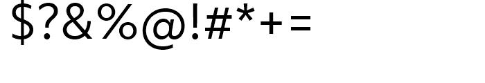 Objektiv Mk Regular Font OTHER CHARS