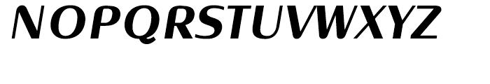 Oblik Classic Bold Italic Font UPPERCASE