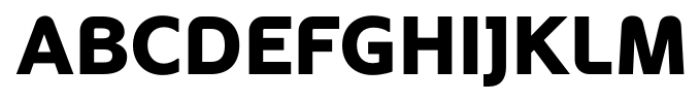 Oblik Black Font UPPERCASE