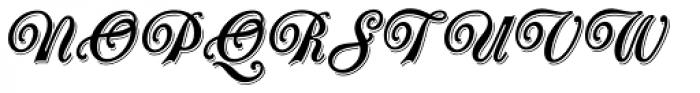 Oberon Std Font UPPERCASE