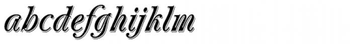 Oberon Std Font LOWERCASE