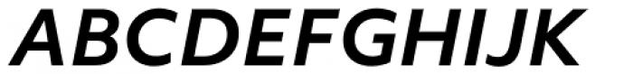 Objektiv Mk1 Bold Italic Font UPPERCASE