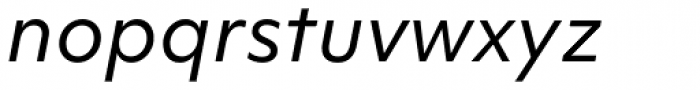 Objektiv Mk1 Italic Font LOWERCASE