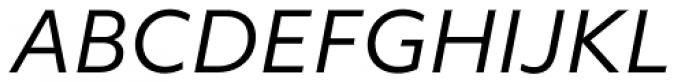 Objektiv Mk2 Italic Font UPPERCASE