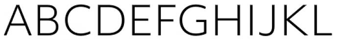 Objektiv Mk2 Light Font UPPERCASE