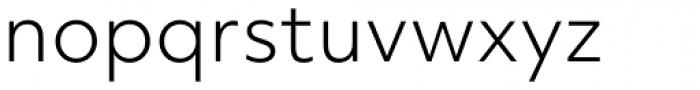 Objektiv Mk2 Light Font LOWERCASE