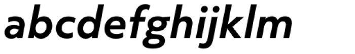 Objektiv Mk3 Bold Italic Font LOWERCASE