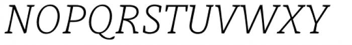Obla Thin Italic Font UPPERCASE