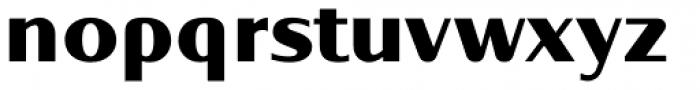 Oblik Classic Black Font LOWERCASE