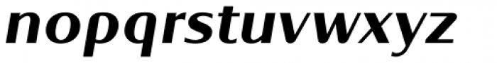 Oblik Classic Bold Italic Font LOWERCASE