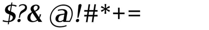 Oblik Classic Italic Font OTHER CHARS
