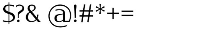 Oblik Classic Light Font OTHER CHARS