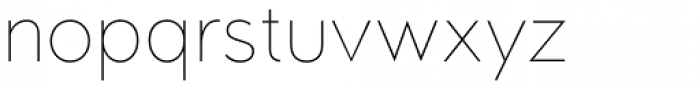Oblivian Text Thin Font LOWERCASE
