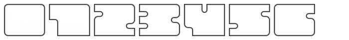 Oboe Outline Wide Font OTHER CHARS